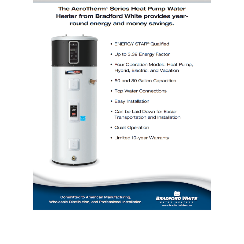 Bradford Water Heater >> WATER HEATERS - Home Energy Products